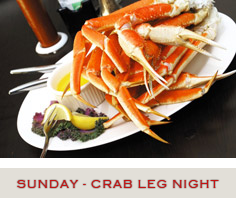 Crab Leg Night Specials