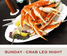 Crab Leg Night Specials